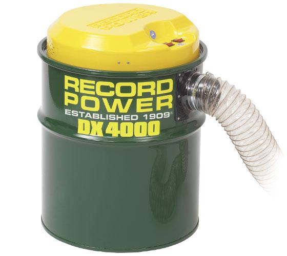 DX4000 Fine Filter Twin Motor 80 Litre Extractor - HPLV
