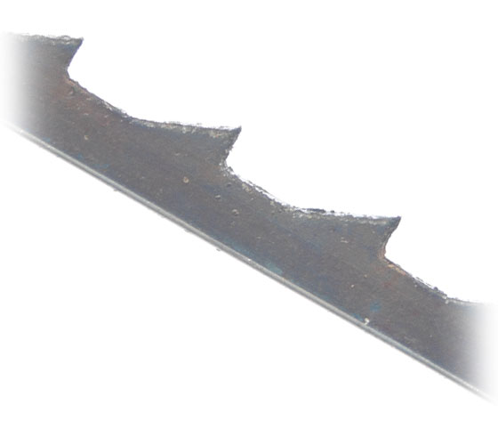 SSB-PINS3009 Pack of 12 Skip Tooth Pin End HSS 18.5 TPI Scroll Saw Blades