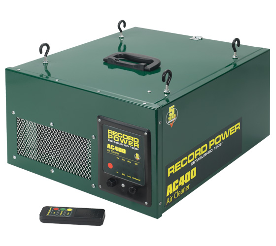 AC400 Two Stage Air Filter with Remote 3 Speeds and Time Delay