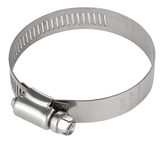CVA250-50-108 2.5 Inch Hose Clamp - Stainless Steel Band