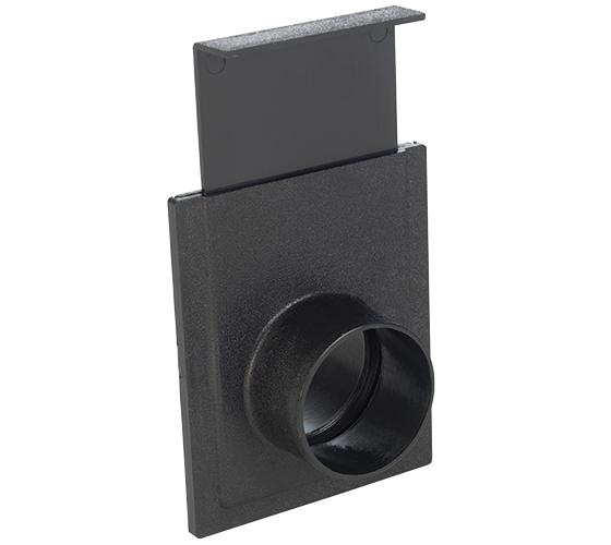 CVA250-50-102 2.5 Inch Plastic Blast Gate