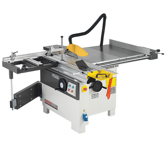 45001 TS1 Table Saw, 900mm Rip, 1200mm Sliding Table with Squaring Frame (230v 1Phase)