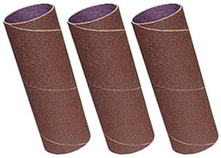 73004 3 Pack Sanding Sleeves, 60,80,120 Grit, 50mm x 140mm