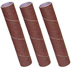 73006 3 Pack Sanding Sleeves, 60,80,120 Grit, 25mm x 140mm