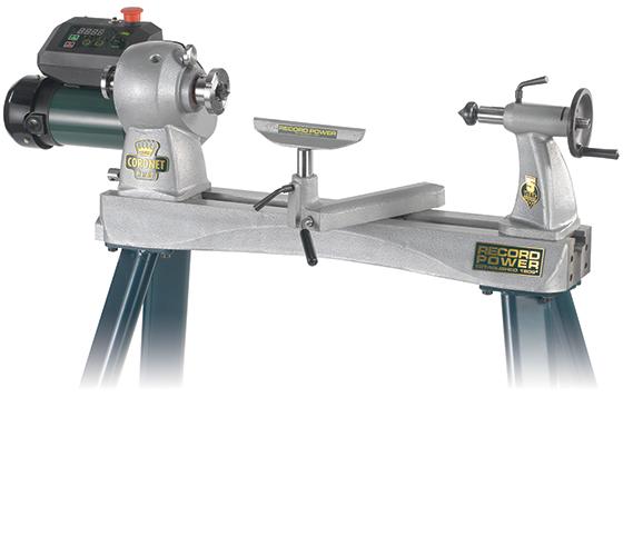 16007 Herald Heavy Duty Cast Iron Electronic Variable Speed Lathe