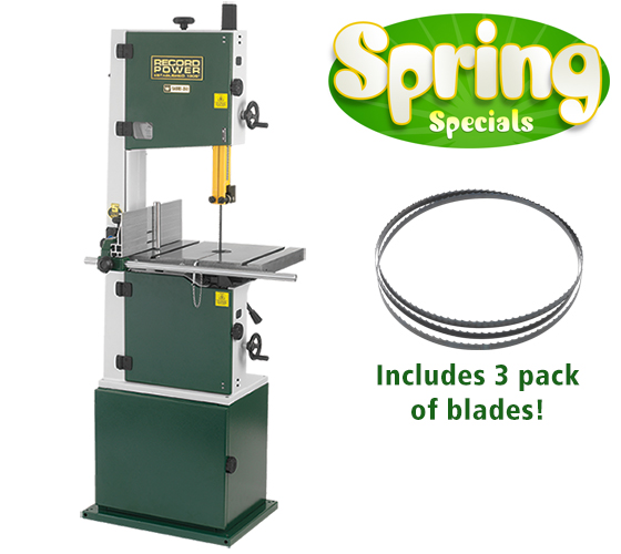 67001 Sabre350 Bandsaw Package Deal