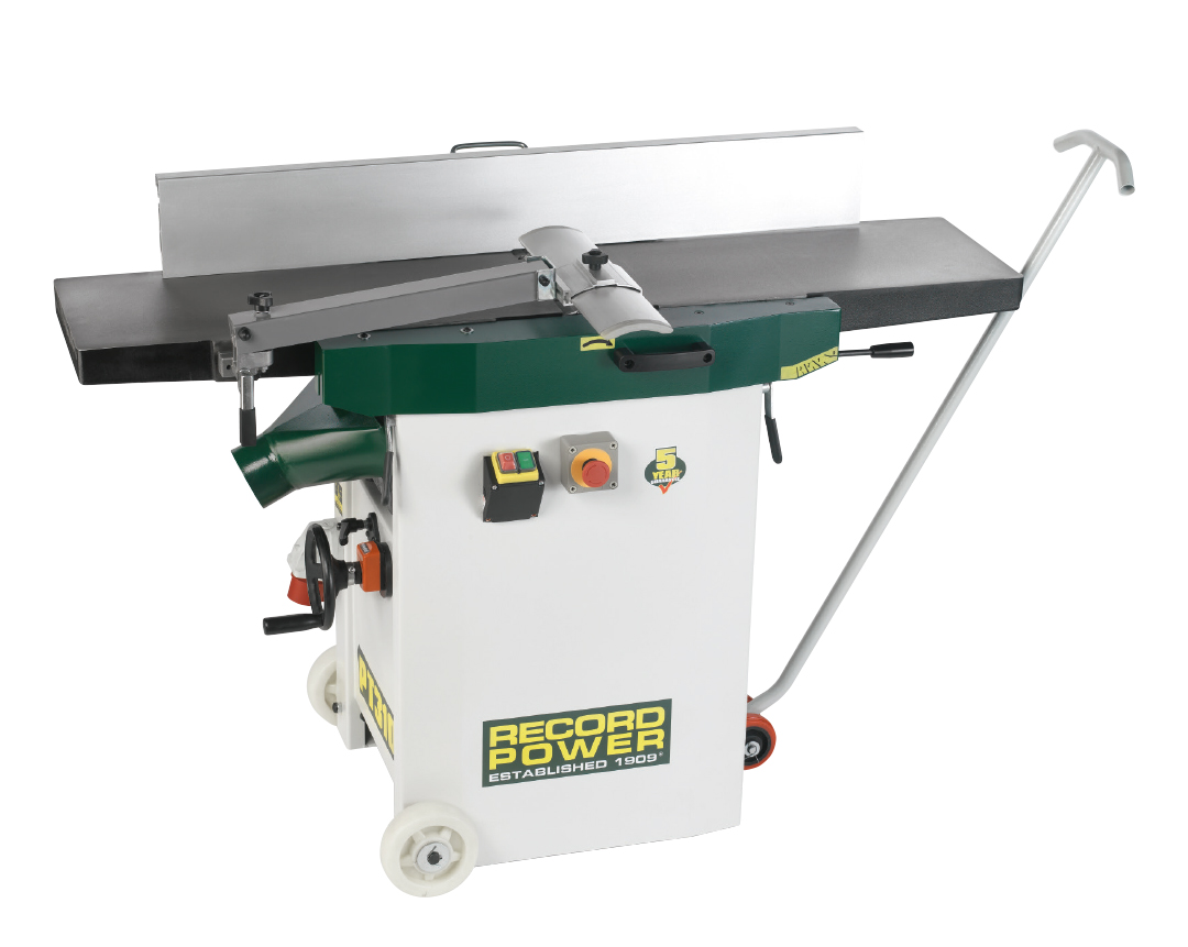 48502 PT310 Heavy Duty Planer Thicknesser 400v, With Digital Readout and Wheel Kit