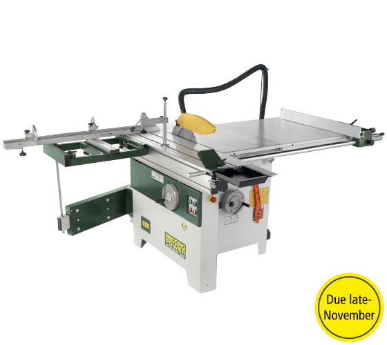 46001 TS2 Table Saw, 900mm Rip, 1200mm Sliding Table with Squaring Frame (230v 1Phase)
