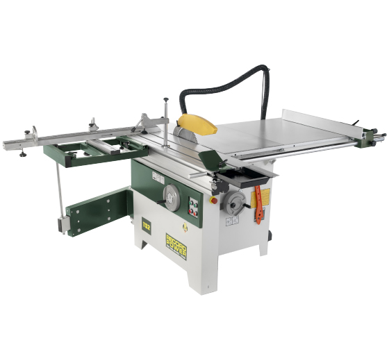 46002 TS2 Table Saw, 900mm Rip, 1200mm Sliding Table with Squaring Frame (400v 3Phase)